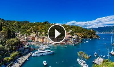 Webcam Live Portofino Baia Cannone